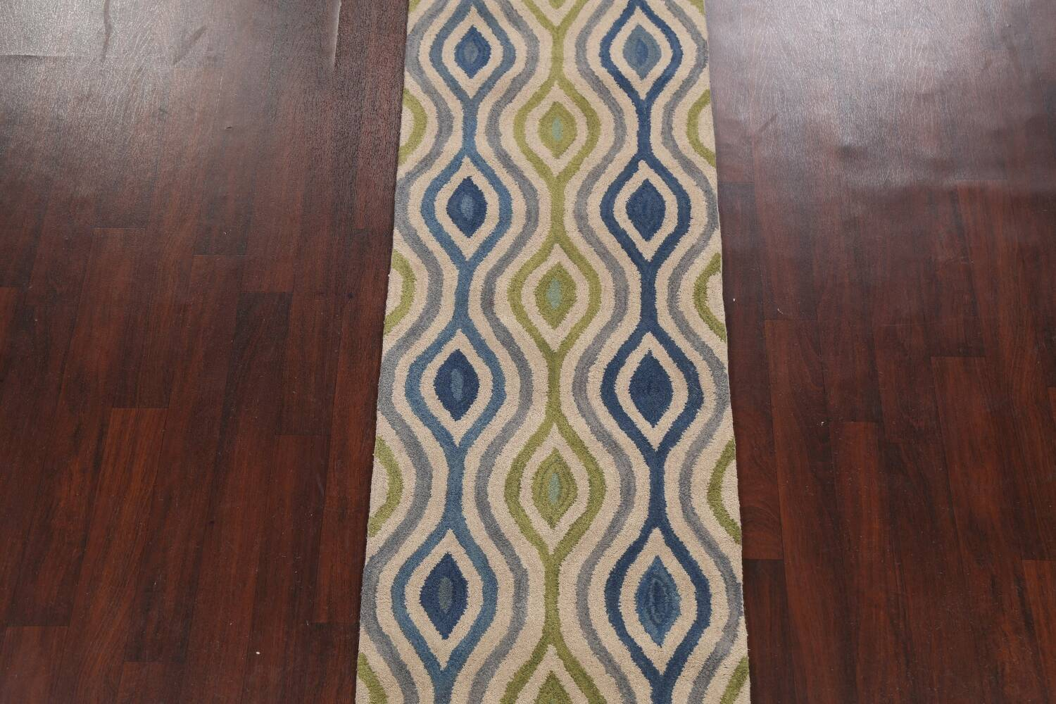 Contemporary Runner Rug 3x10 image 3