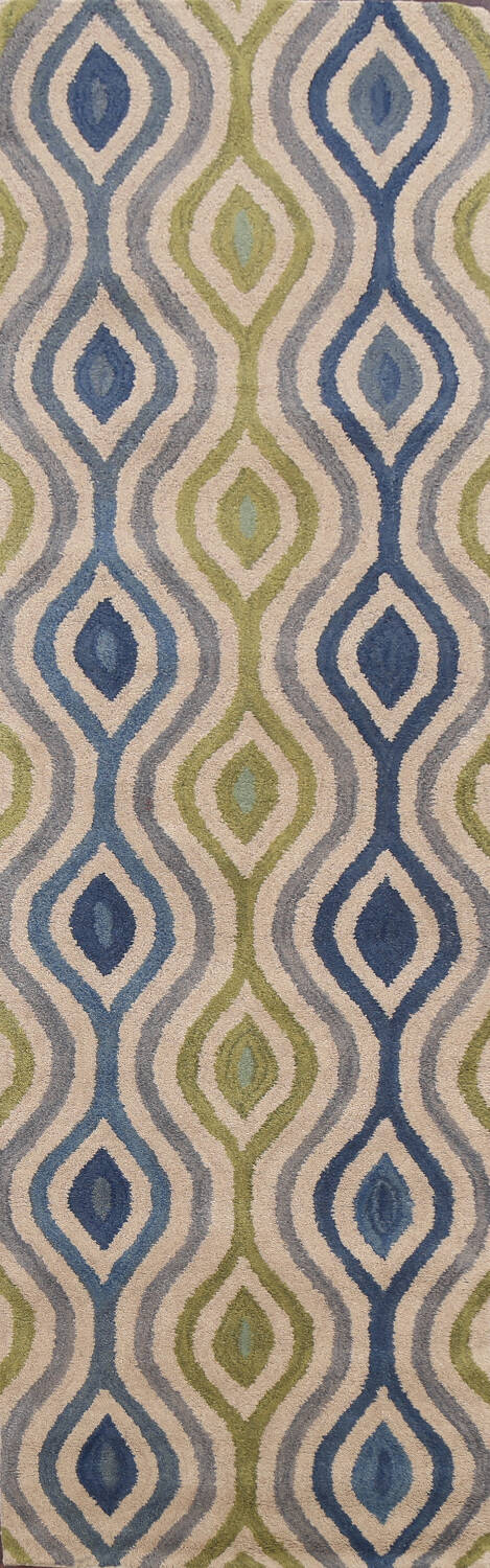 Contemporary Runner Rug 3x10 image 1