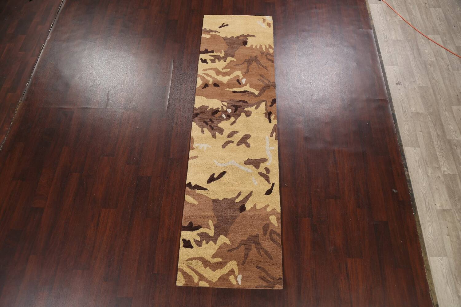 Contemporary Abstract Runner Rug 3x10 image 2