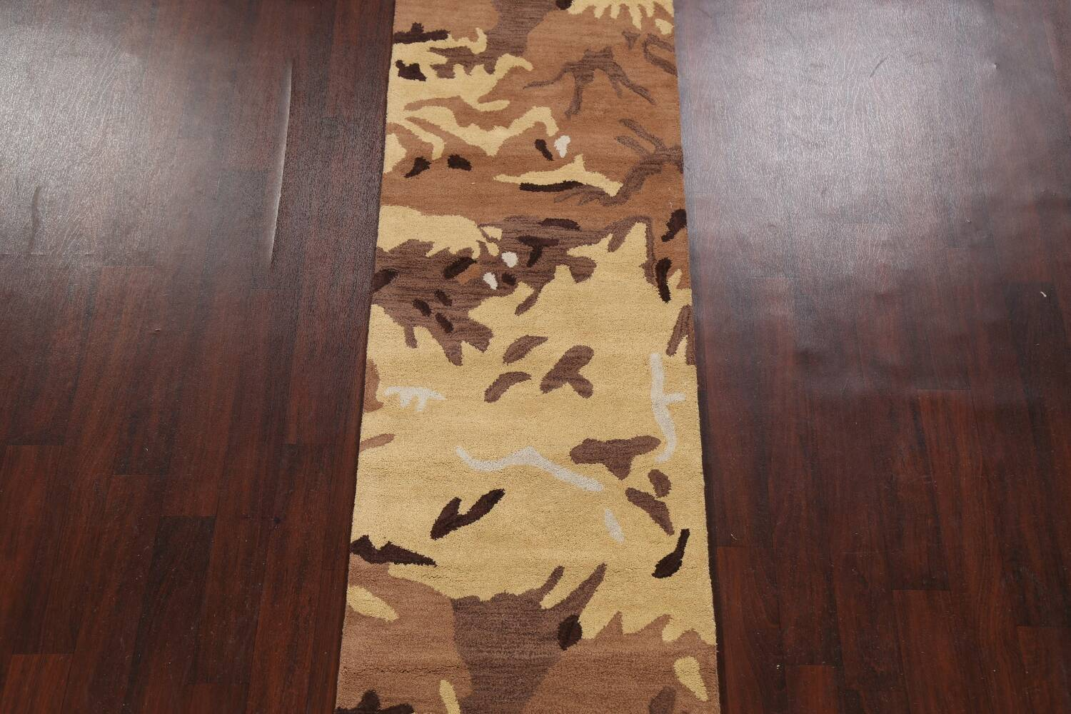 Contemporary Abstract Runner Rug 3x10 image 3