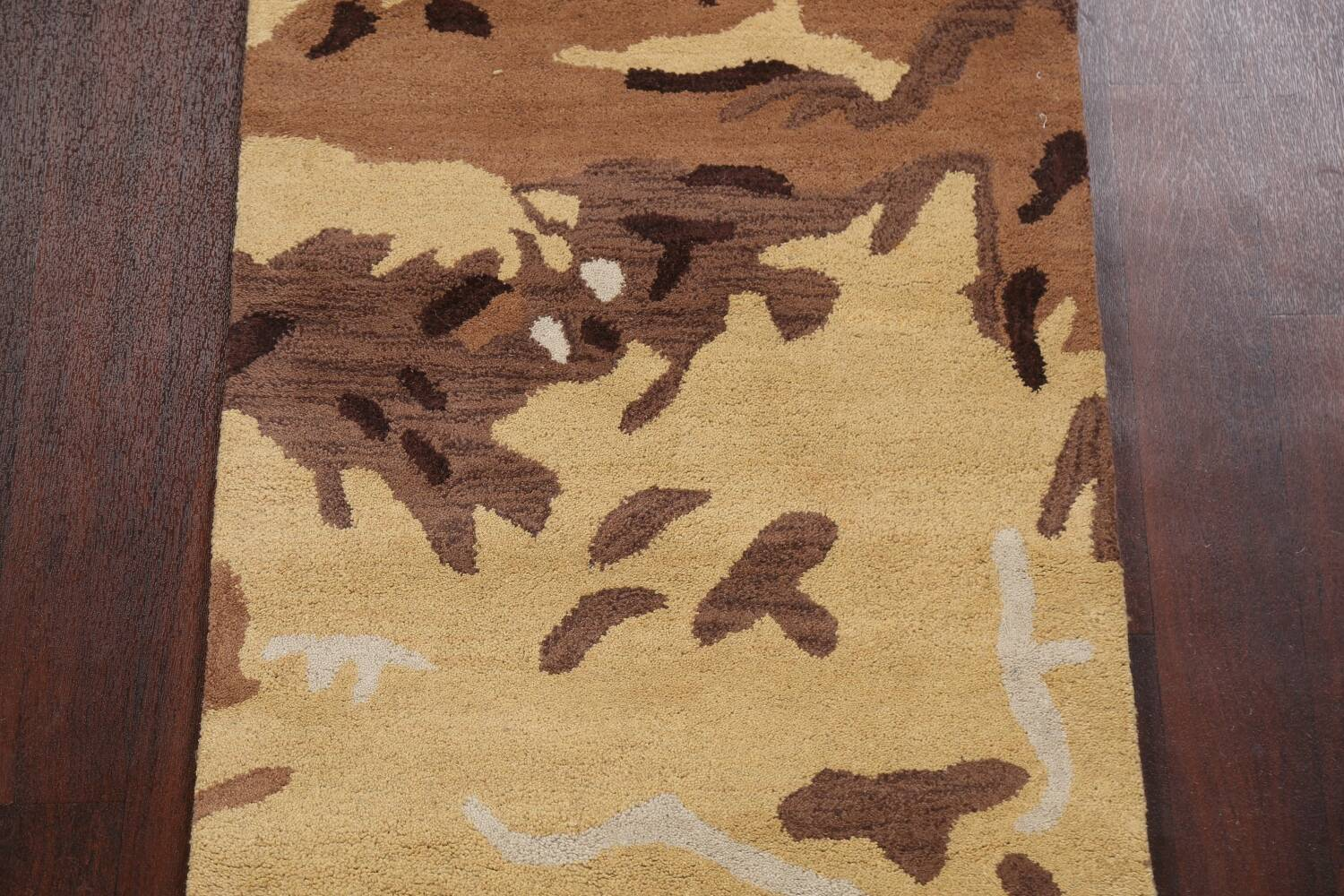 Contemporary Abstract Runner Rug 3x10 image 4