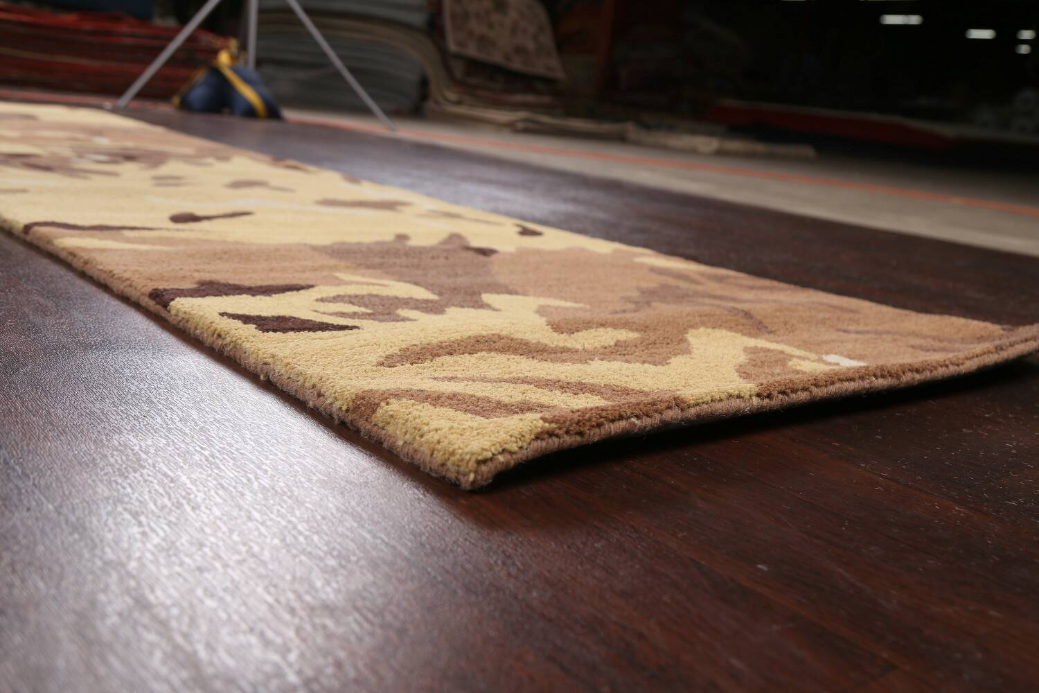 Contemporary Abstract Runner Rug 3x10 image 6