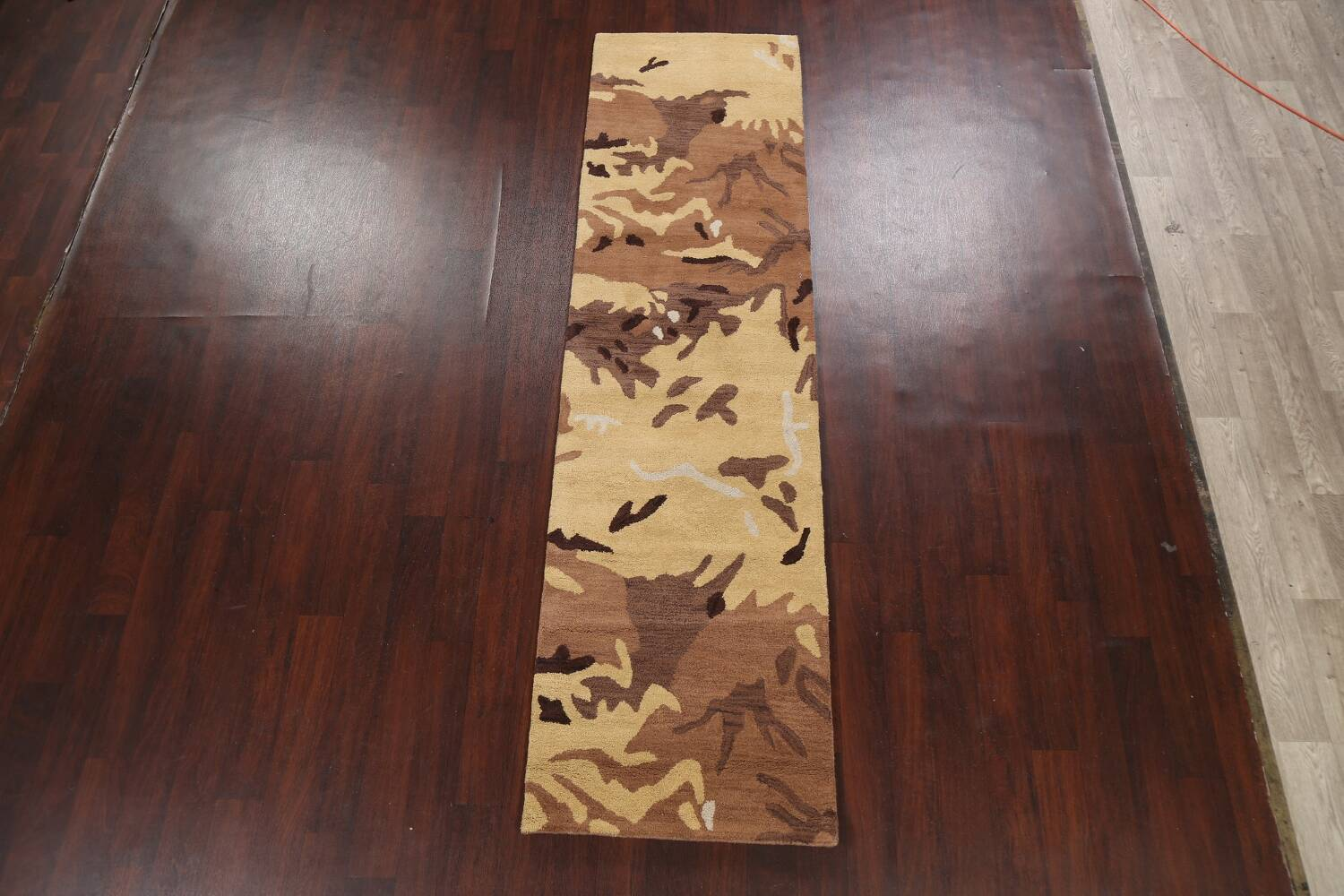 Contemporary Abstract Runner Rug 3x10 image 12