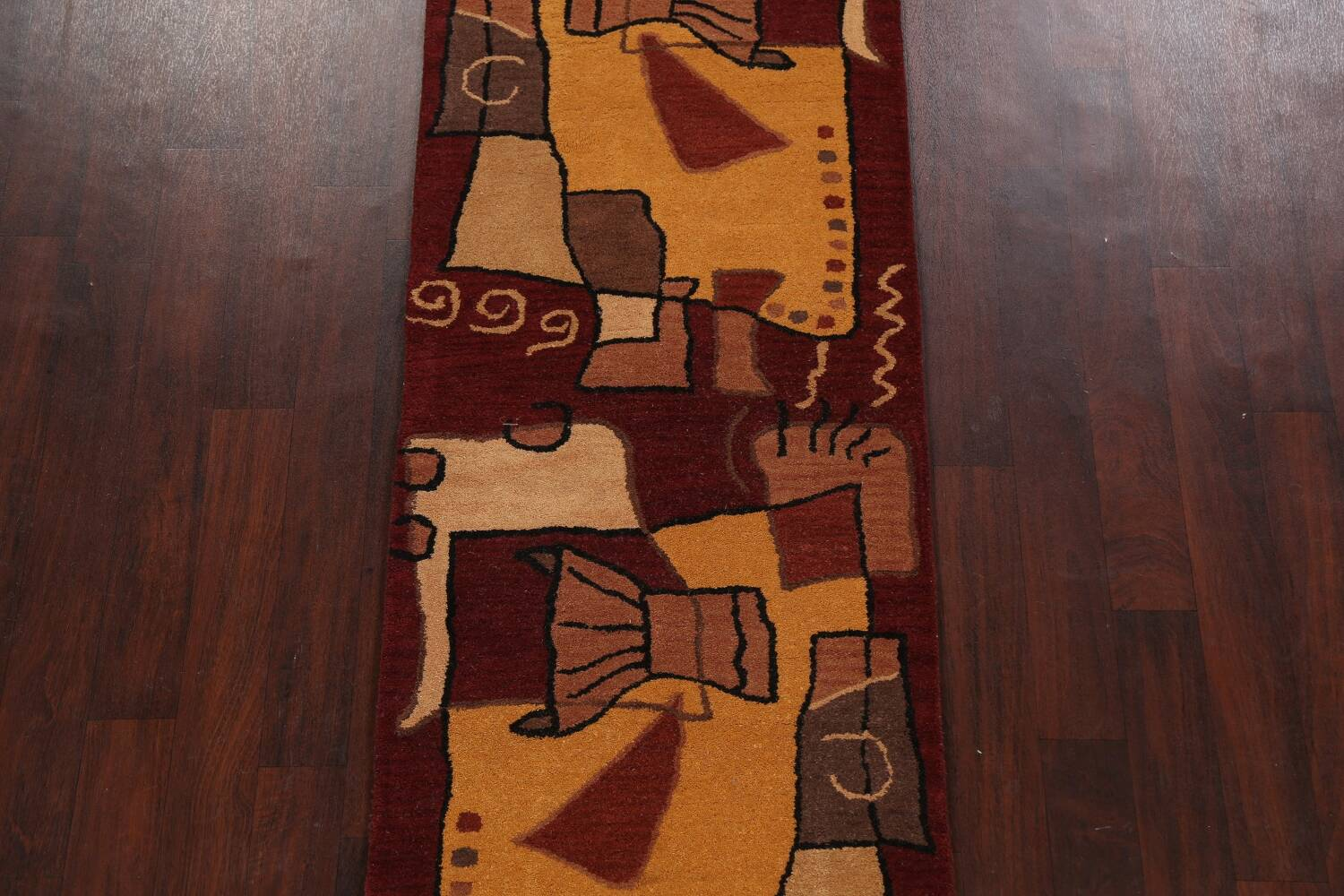 Abstract Runner Rug 3x8 image 3