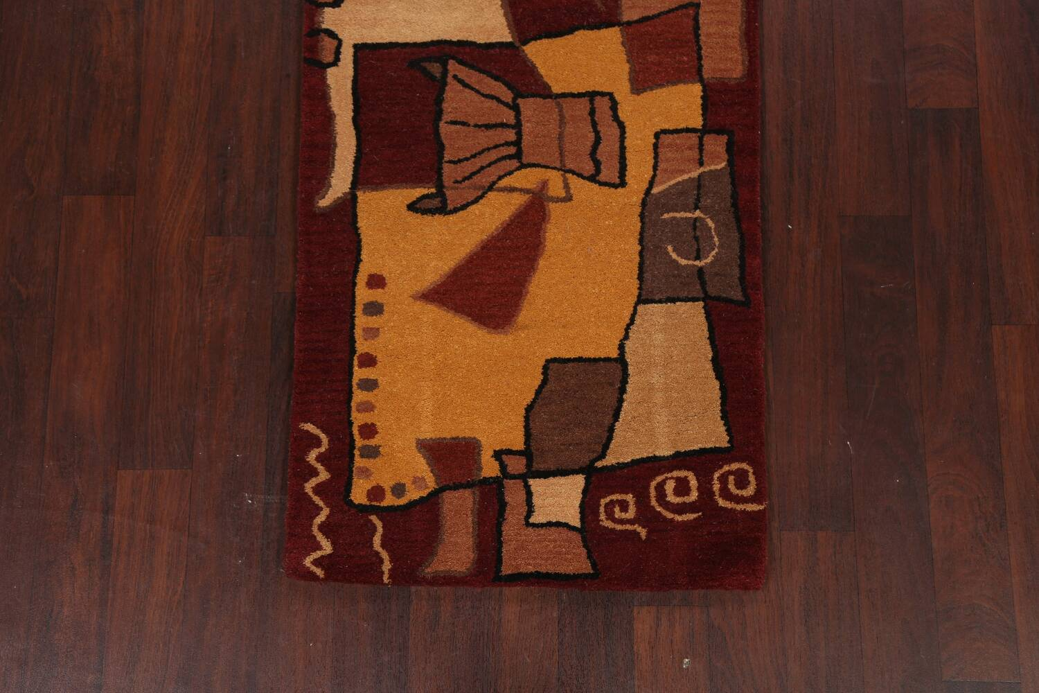 Abstract Runner Rug 3x8 image 8