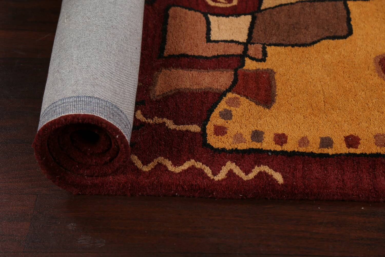 Abstract Runner Rug 3x8 image 13