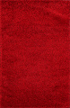 Red Plush Shaggy Area Rug 5x7 image 1