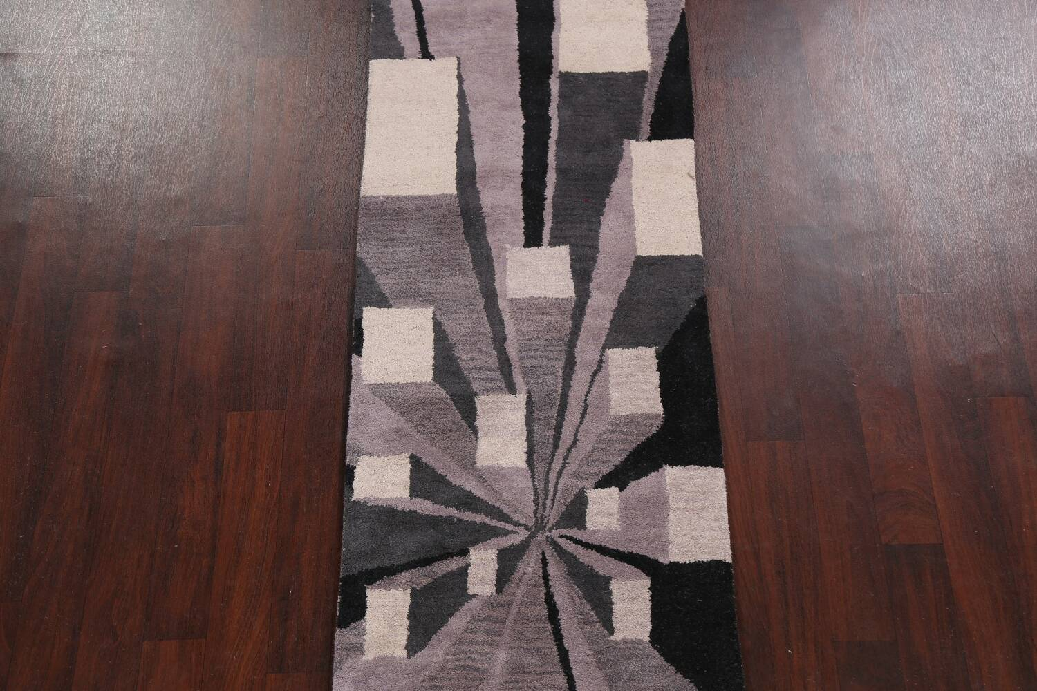 Contemporary Runner Rug 3x8 image 3