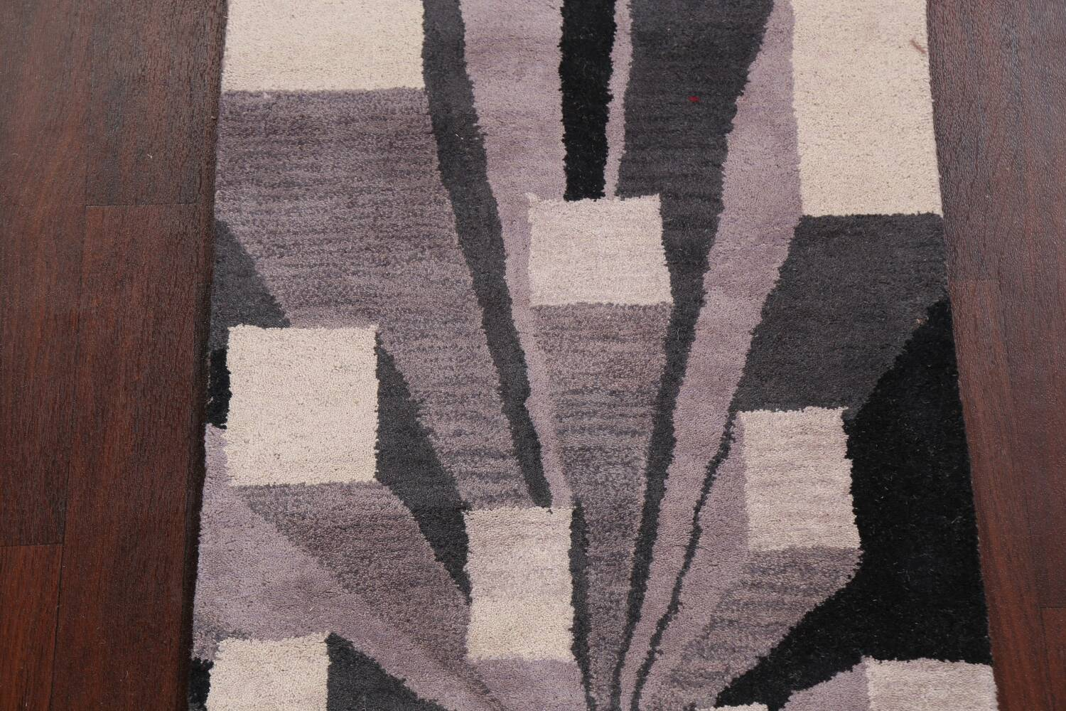Contemporary Runner Rug 3x8 image 4