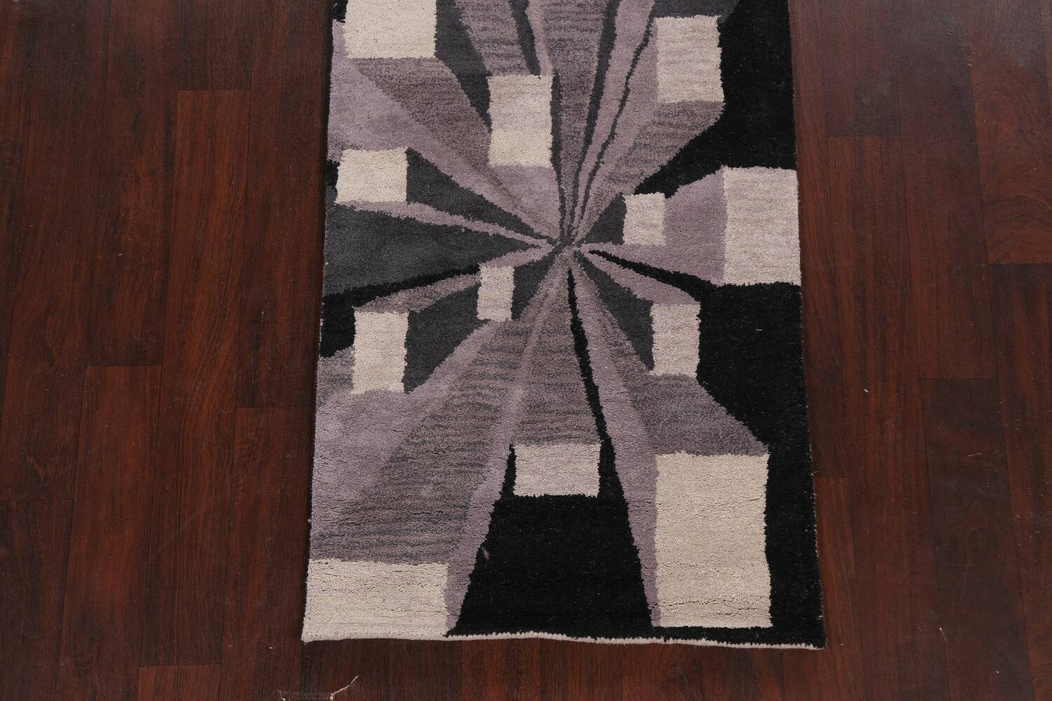 Contemporary Runner Rug 3x8 image 8