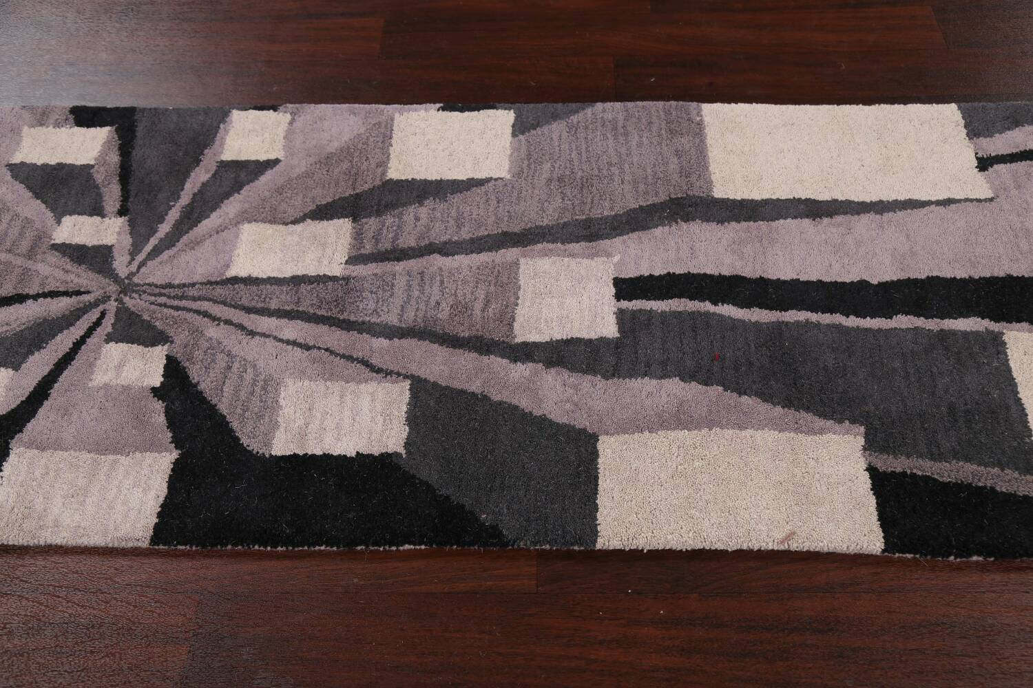 Contemporary Runner Rug 3x8 image 11