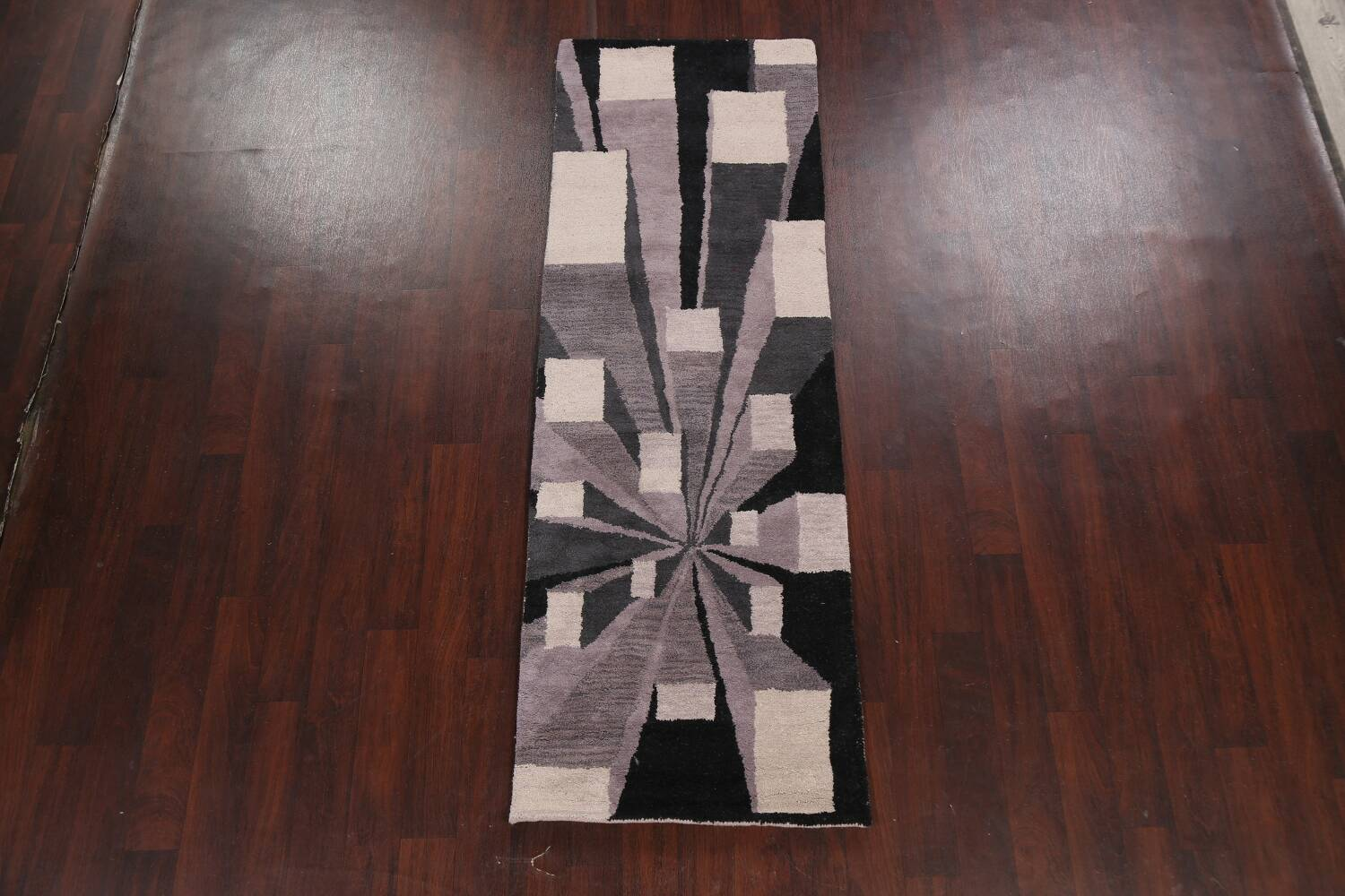 Contemporary Runner Rug 3x8 image 12