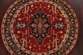 Floral Round Rug 5x5 image 3