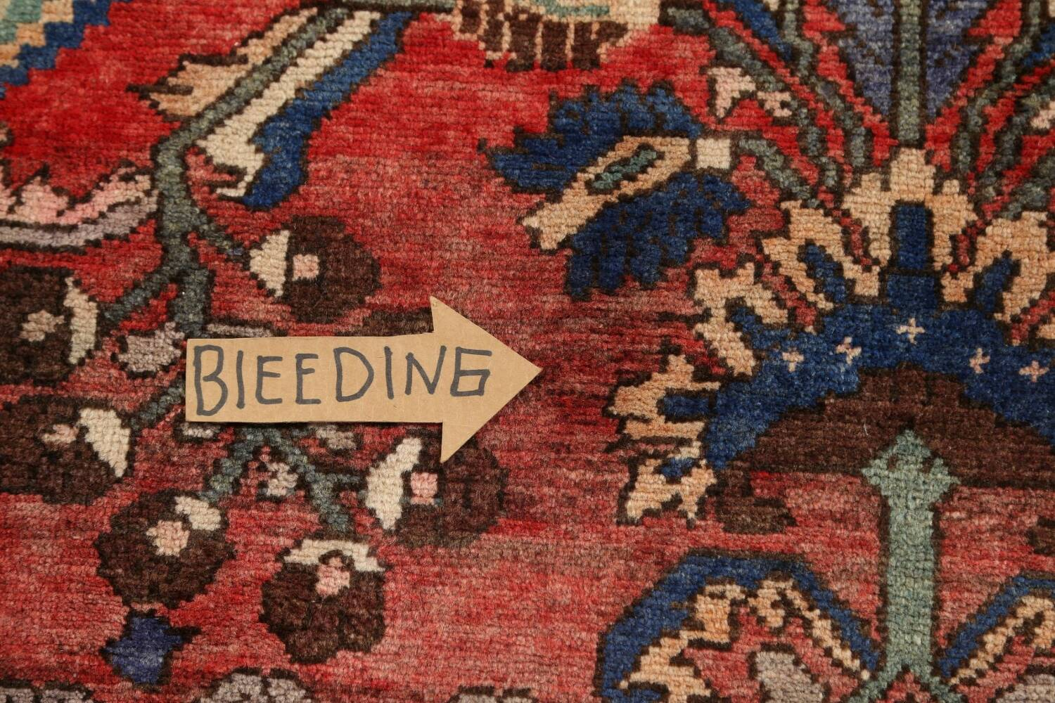 Antique Floral Malayer Persian Area Rug 4x7 image 11
