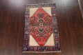 Antique Floral Malayer Persian Area Rug 4x7 image 2