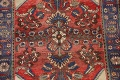 Antique Floral Malayer Persian Area Rug 4x7 image 4