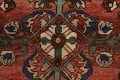 Antique Floral Malayer Persian Area Rug 4x7 image 8