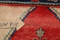Antique Floral Malayer Persian Area Rug 4x7 image 9