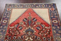 Antique Floral Malayer Persian Area Rug 4x7 image 13