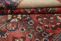 Antique Floral Malayer Persian Area Rug 4x7 image 18