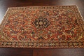 Antique Floral Mahal Persian Area Rug 4x7 image 12