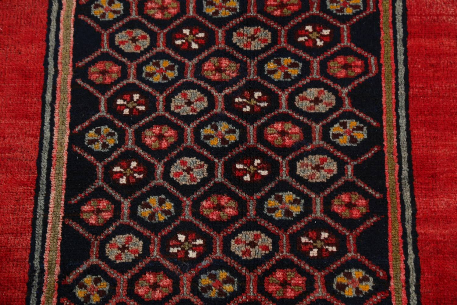 Geometric Malayer Persian Area Rug 4x7 image 10