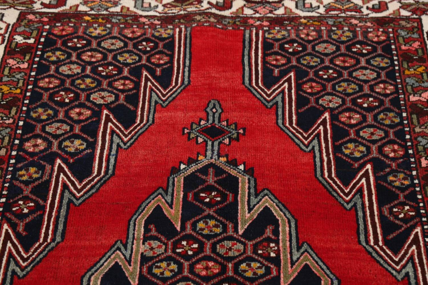 Geometric Malayer Persian Area Rug 4x7 image 11