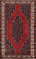 Geometric Malayer Persian Area Rug 4x7 image 1