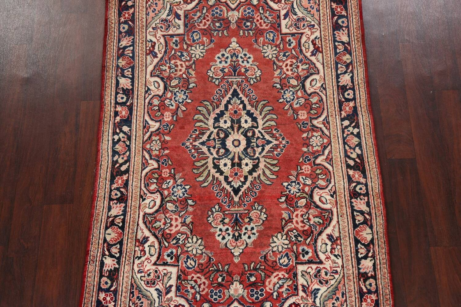 Floral Mahal Persian Area Rug 4x7 image 3
