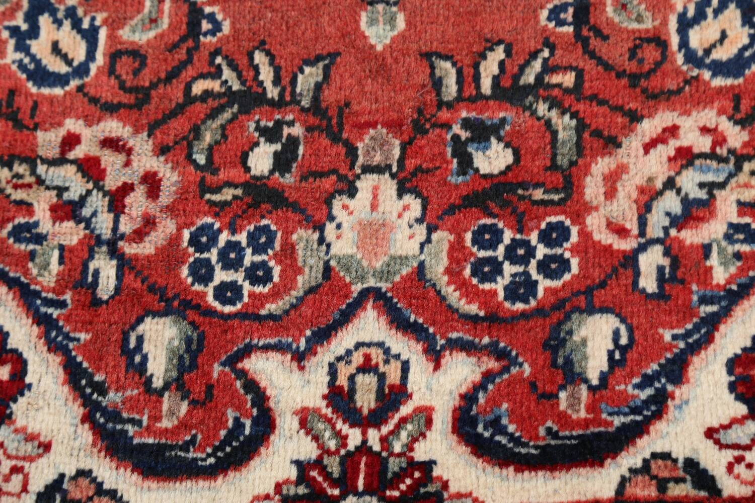 Floral Mahal Persian Area Rug 4x7 image 9