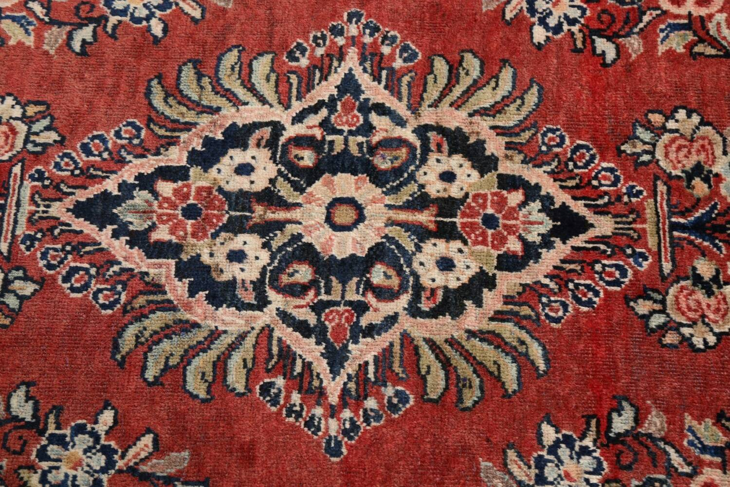 Floral Mahal Persian Area Rug 4x7 image 10