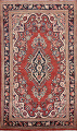 Floral Mahal Persian Area Rug 4x7 image 1