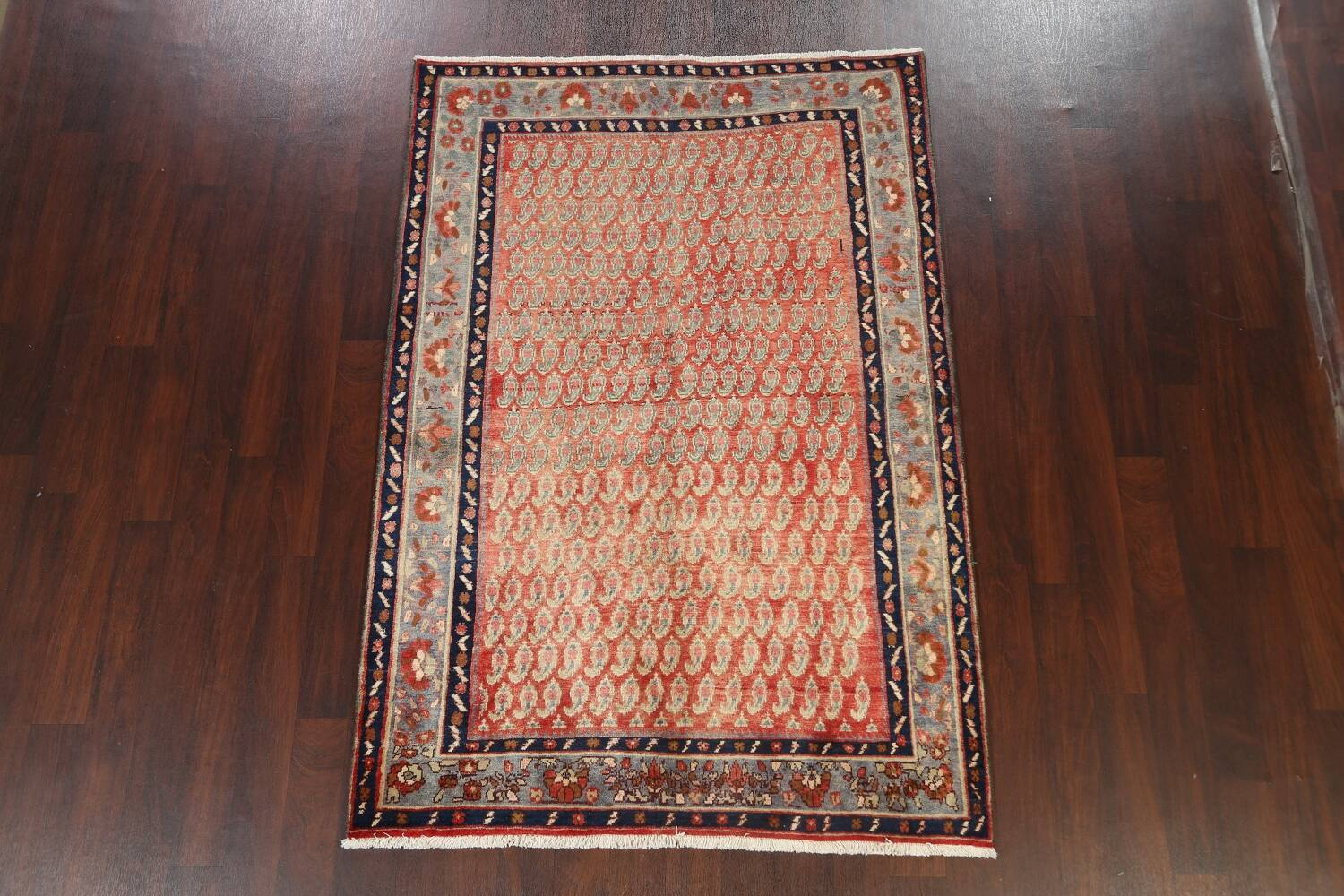 All-Over Boteh Botemir Persian Area Rug 5x7 image 2