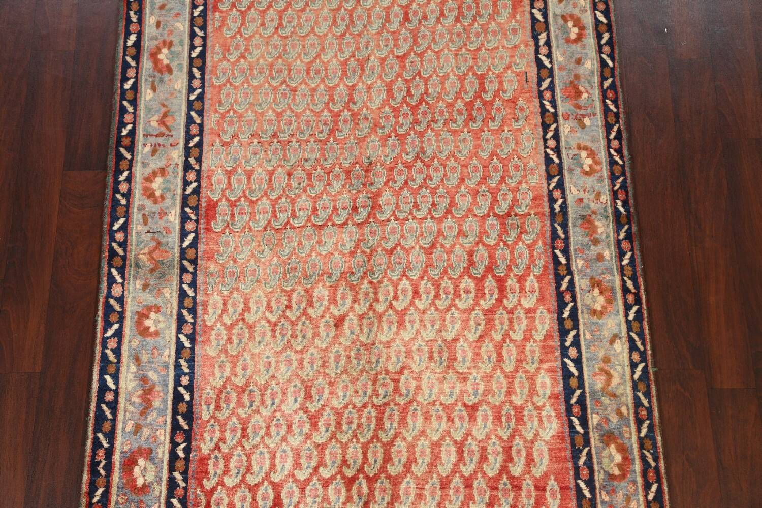 All-Over Boteh Botemir Persian Area Rug 5x7 image 3