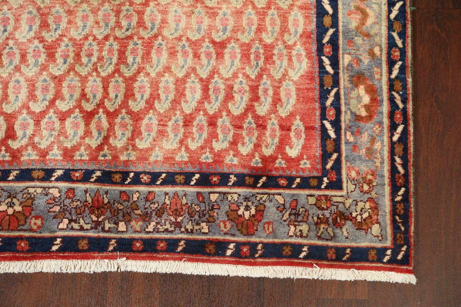 All-Over Boteh Botemir Persian Area Rug 5x7 image 6