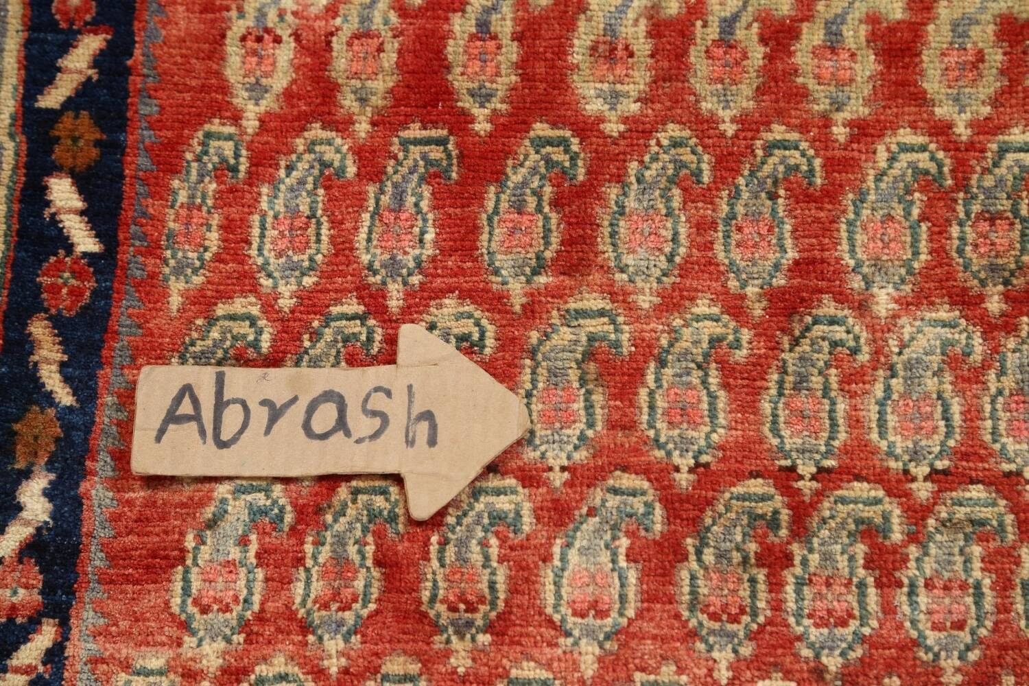 All-Over Boteh Botemir Persian Area Rug 5x7 image 9