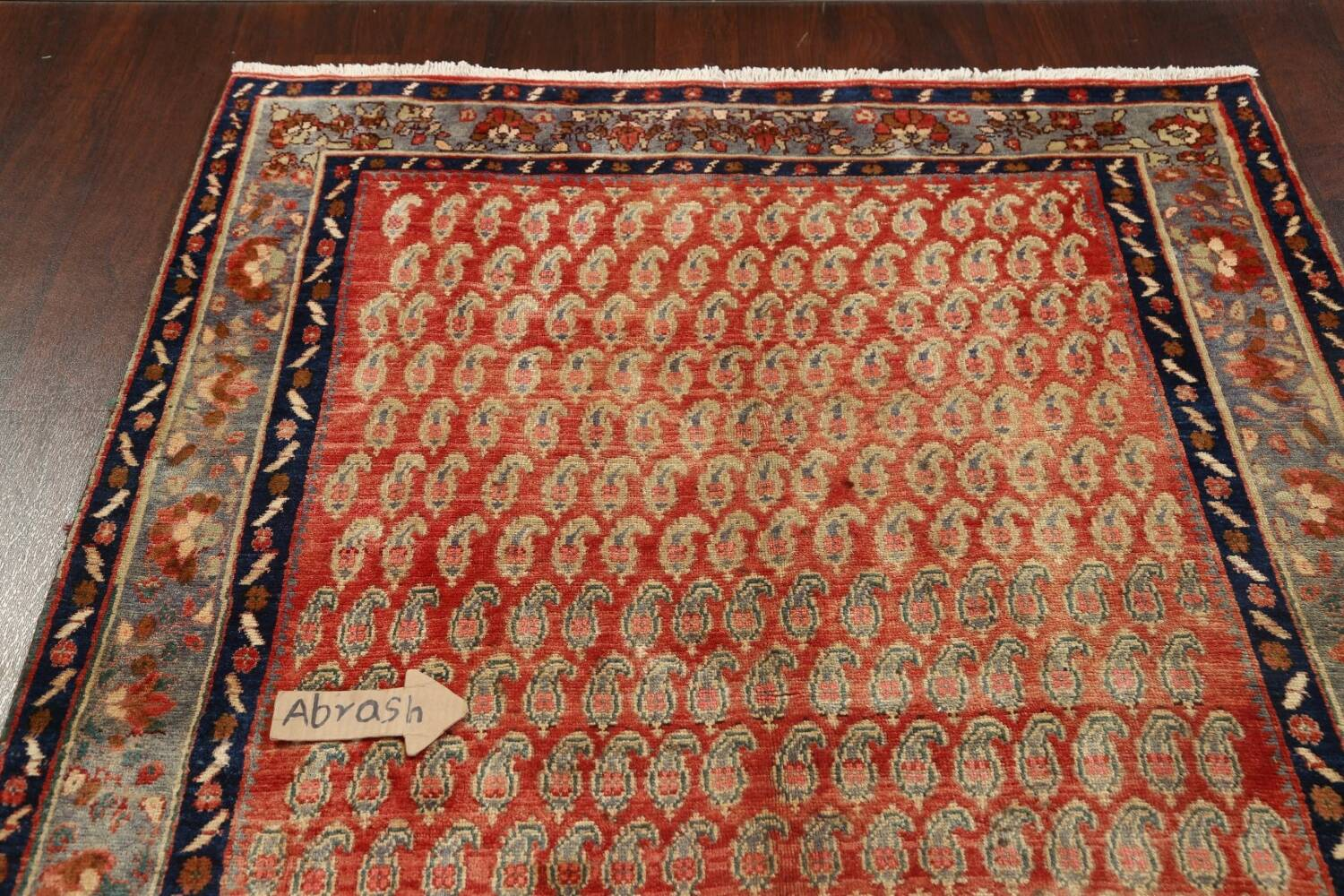 All-Over Boteh Botemir Persian Area Rug 5x7 image 10