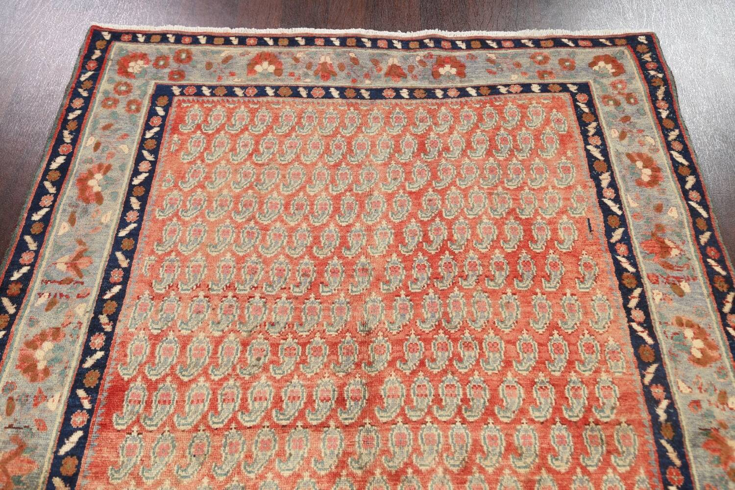 All-Over Boteh Botemir Persian Area Rug 5x7 image 11