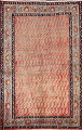 All-Over Boteh Botemir Persian Area Rug 5x7 image 1
