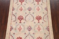 Pale Coral Hand-Tufted Floral Area Rug 6x8 image 3