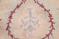 Pale Coral Hand-Tufted Floral Area Rug 6x8 image 8
