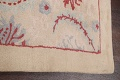 Pale Coral Hand-Tufted Floral Area Rug 6x8 image 10