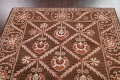 Hand-Tufted Floral Area Rug 6x8 image 9