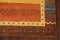 Hand-Tufted Tribal Gabbeh Area Rug 6x8 image 6