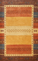 Hand-Tufted Tribal Gabbeh Area Rug 6x8 image 1