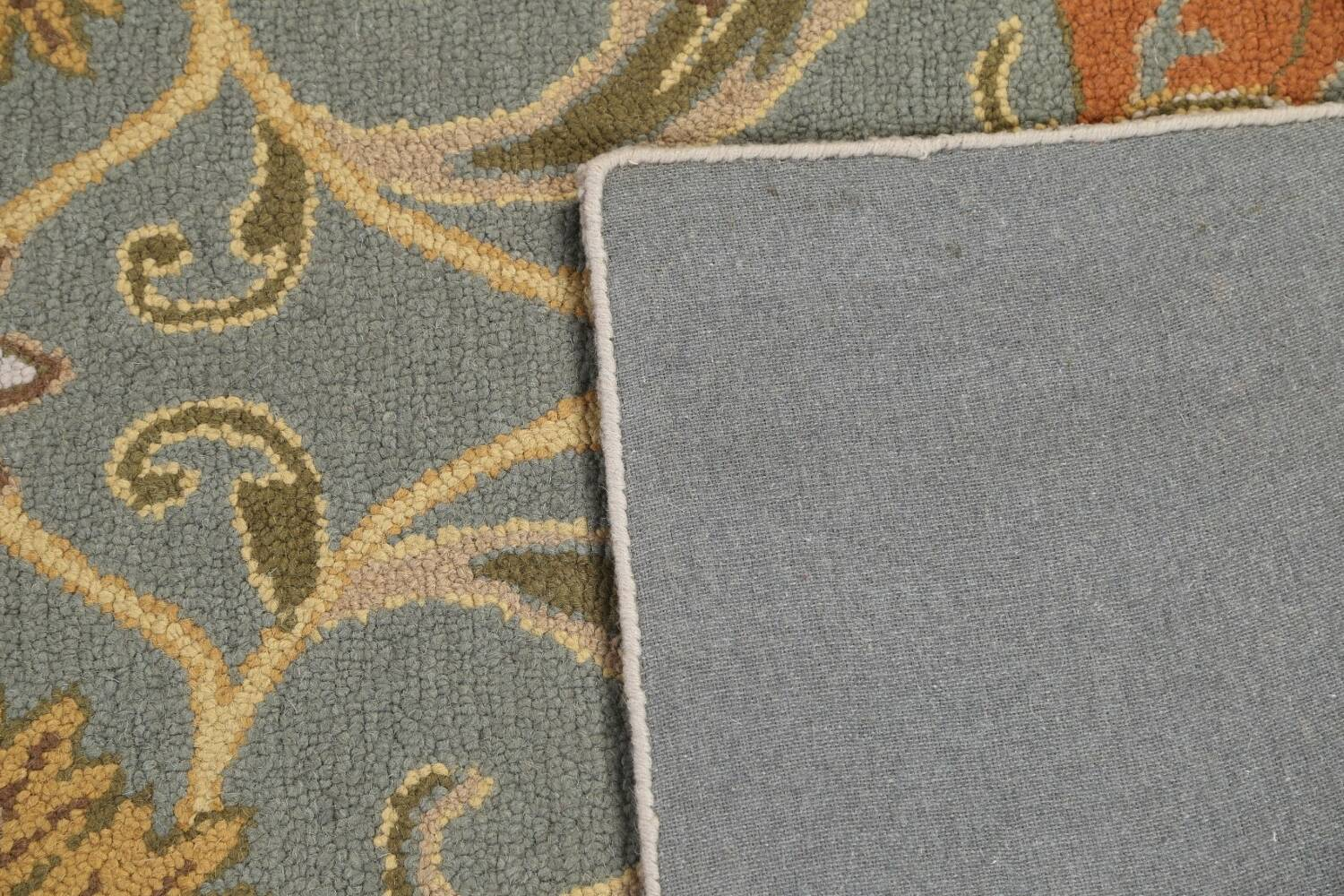Hand-Tufted Floral Agra Area Rug 5x8 image 7