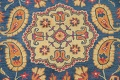 Hand-Tufted Floral Area Rug 5x8 image 4