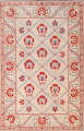 Hand-Tufted Floral Area Rug 6x8 image 1