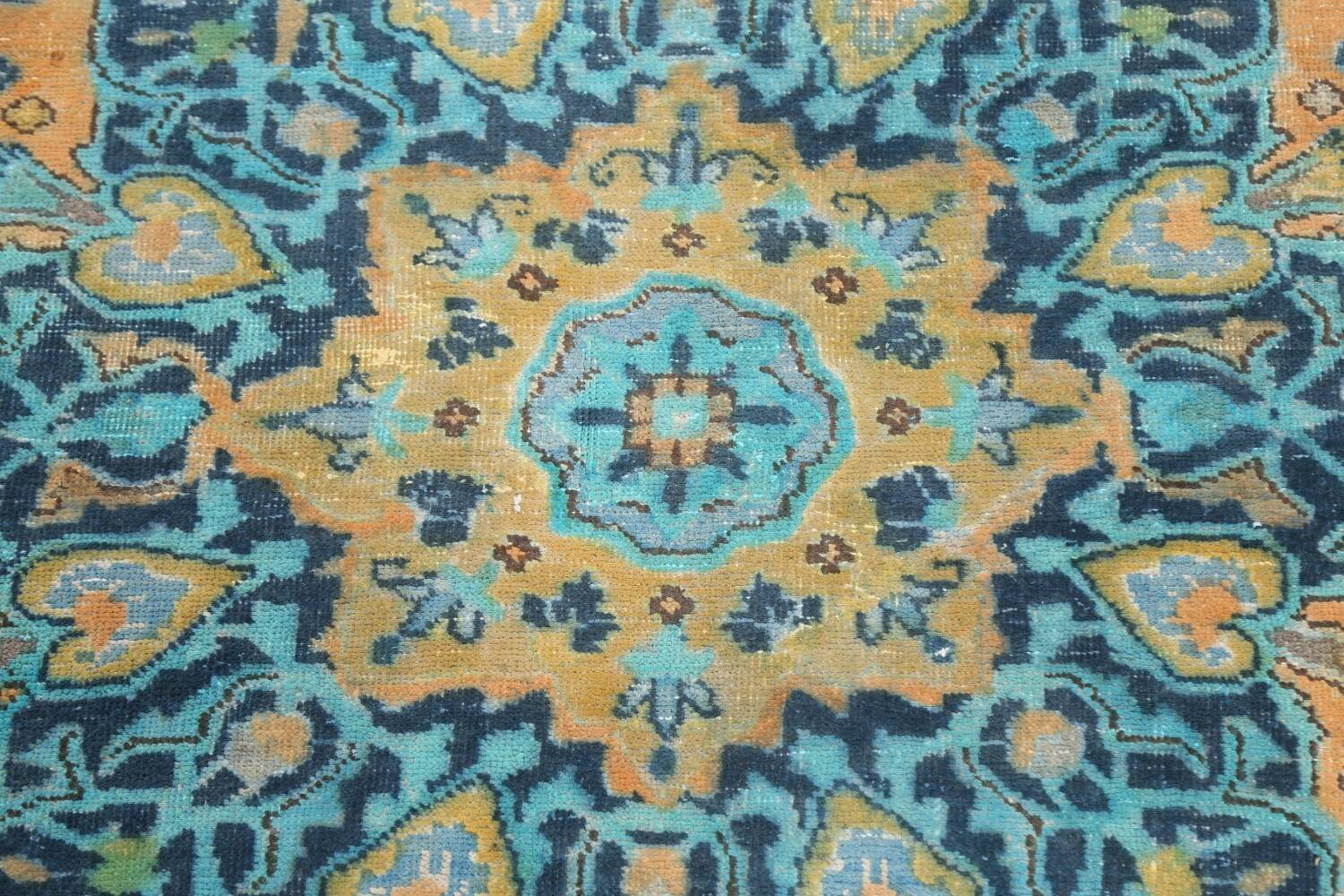 Floral Mashad Persian Area Rug 8x11 image 10