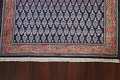 All-Over Navy Blue Tabriz Persian Area Rug 2x3 image 5